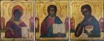 Деисусный чин Господь Вседержитель, Богоматерь, Иоанн Предт