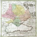 Карта, Tabula Geographica qua pars Russiae Magnae Pontus Eux