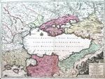 Карта Черного моря и прибрежных земель (Tartarie Europa seu
