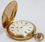 Часы карманные трехкрышечные Salter с римским циферблатом