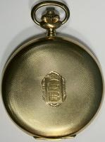 Часы карманные 3х-крышечные фирмы Nestor с арабским и секу