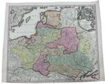 Карта Poloniae Regnum ut et Magni Ducatus Lithuaniae Accura