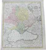 Карта Великой и Малой России. Tabula Geographica Qua Pars R