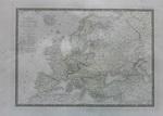 Общая карта Европы Carte Generale de l'Europe D'apres les D