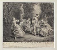 Гравюра. XVIII век.