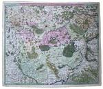 Карта Московской империи Imperii Moscovitici pars Australis
