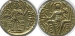Динар. Индия. Кушан. Майорес Домус и Васудева III. Золото,