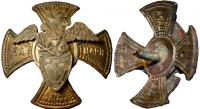 Знак Лейб-гвардии Волынского полка. Российская Империя, 1911
