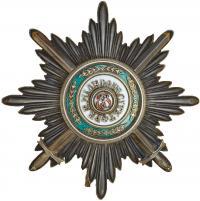 Звезда ордена Святого Станислава с мечами. С.-Петербург, 191