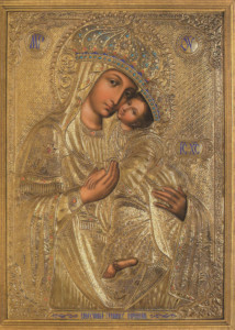 Икона Пресвятой Богородицы Споручница Грешных (Корецкая).