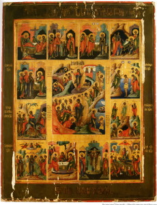 Воскресение Господне с двунадесятыми праздниками